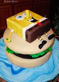 spongebob birthday cake spongebob krusty burger birthday cake ashlee