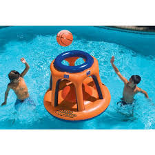 Inflatable Kids Pool Swimline Giant Shootball Inflatable Pool Toy Nt2054 The Home Depot