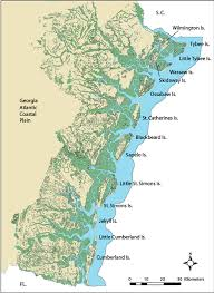 Map Of U South East Us Plant Hardiness Zone Map Mapsofnet Download