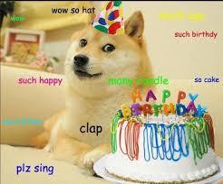 Corgi Birthday Meme - birthday doge blank template imgflip