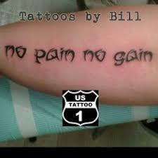 no pain no gain tattoo lettering pinterest pain d u0027epices