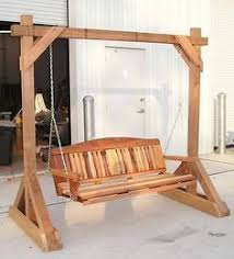 building a tall swing frame porch swing a frame diy outdoor