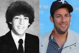 high school yearbook search adam sandler senior yearbook photo at manchester central high