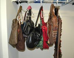 how to organize handbags in closet laura williams