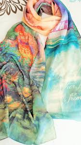 christian scarf let us one another kinkade designer