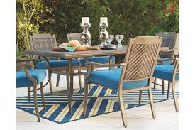 outdoor dining room furniture dining room table by ashley furniture furniture mall of kansas