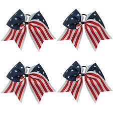 fourth of july hair bows cheerleading hair bows for how to make hair bows