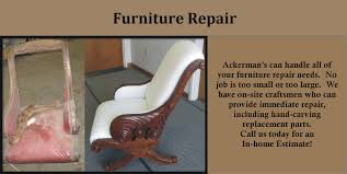 Ackermans Furniture Service  Furniture Repair  Refinishing - Home furniture repair