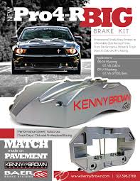 kenny brown mustang kenny brown baer pro 4r big brake kit for 2005 2014 mustang