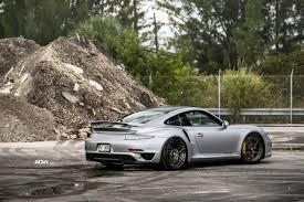 silver porsche 911 turbo s adv05s m v2 cs centerlock wheels