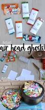 Donate Leftover Halloween Candy by Doodlecraft Air Head Ghosts Halloween Candy