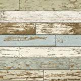 amazon com blooming wall 8w106 faux vintage wood panel barnwood
