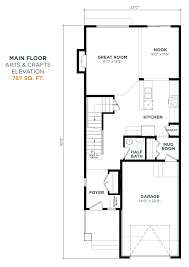 arts and crafts floor plans bayview u2013 alder 309 bayview way sw genesis builders group inc