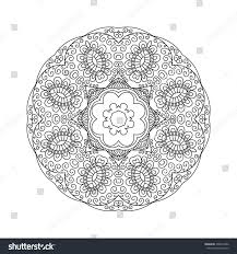 100 abstract design coloring pages seamless black and white