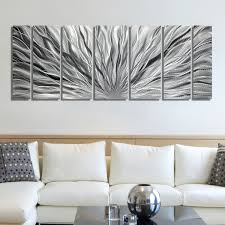 Awesome Wall Decor by Articles With Silver Metal Wall Art Decor Tag Silver Wall Decor