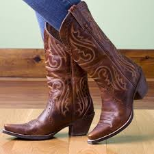 ariat womens cowboy boots size 12 65 ariat boots ariat s heritage brown cowboy
