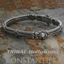 make silver bracelet cuff images Mens silver bracelets tribal hollywood jpg