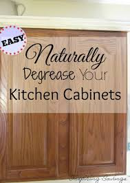 cleaning tips for kitchen miracle decreaser and it is all natural clean your kitchen cabinets