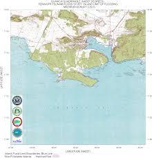 Maps Puerto Rico by Puerto Rico Tsunami Flood Maps Nad27