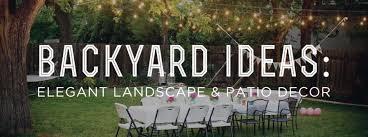 backyard ideas elegant landscape and patio decor u2014 gentleman u0027s