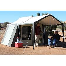 Camping Tent Awning Kodiak Canvas Cabin Tent 6133 6 Person 9x12 With Deluxe Awning Canopy