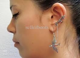 cuff ear 2018 vintage ear cuff bird and arrow in ear popular earrings from