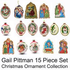 collectible chrstmas ornaments gail pittman designs