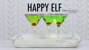 martini green happy elf martini coastal living