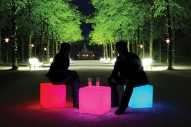 cube led accu wireless outside lights for landscape lighting u2013 moree