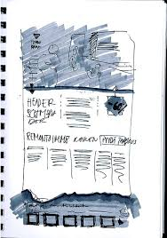 24 best web design sketches images on pinterest sketches