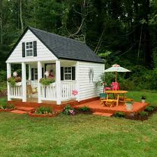 Backyard Playhouse Ideas Beautiful Playhouse For Ones Outside Pinterest