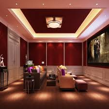 Elegant And Understated Home Theater Elegant And Understated Home - Home theater lighting design