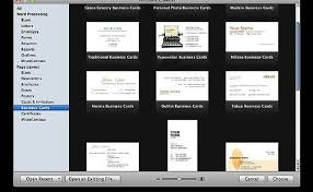 how to make business cards with apple pages u002709 it still works