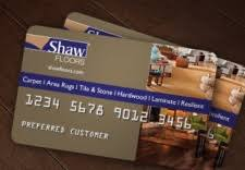 shaw floors credit card payment login and customer service