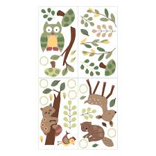 enchanted forest baby crib bedding set lambs ivy enchanted forest wall appliques