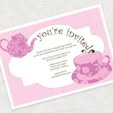 bridal tea party kitchen tea party invitation templates bridal tea invitations