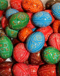 painted wooden easter eggs handmade pysanky wooden eggs 100 ukrainian painted wooden