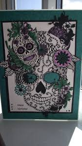 Halloween Birthday Card Ideas by 8 Best Cards Sugar Skulls Images On Pinterest Sugar Skulls