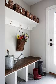 small mudroom bench www shelterness com small mudroom storage ideas pictures 43273