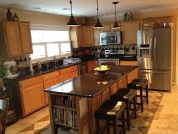 oak cabinets with granite golden oak cabinets with dark countertops www cintronbeveragegroup com