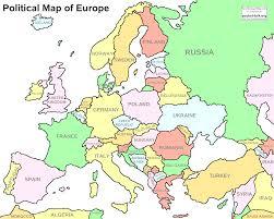 France Political Map by Political Map Of Europe Beauteous Map Europs Evenakliyat Biz