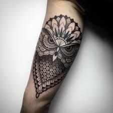 mandala tattoo on shoulder 51 owl tattoos on arm