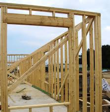 wood framed wall wood framing buildipedia