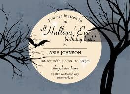 halloween birthday invitations templates free u2014 all invitations ideas