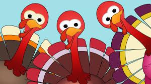 five little turkeys turkey song happy thanks giving youtube