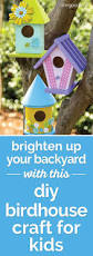 how to make a spring diy birdhouse craft for kids coupons com