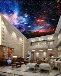 space galaxy nebula full wall ceiling mural photo wallpaper print space galaxy nebula full wall ceiling mural photo wallpaper print home 3d decal sweethome
