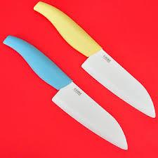 couteau cuisine ceramique couteau cuisine en céramique santoku chef 26cm lame de 14cm anti