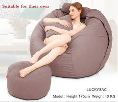 sales outstanding giant bean bag chair fuf oversized memory