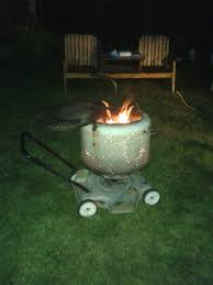 Making Fire Pit From Washer Tub - my wife thinks it u0027s